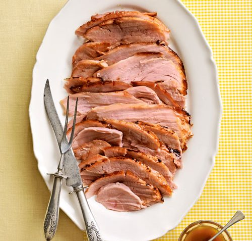 Ham geglaceerd met Ananas (Paasrecept)