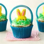 Cupcakes Paasmandje Recept (Paasrecept)