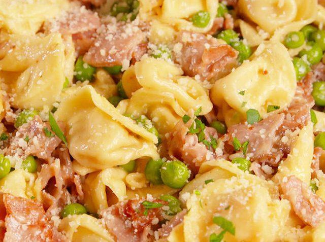 Ham & Kaas Tortellini volgens Italiaans recept