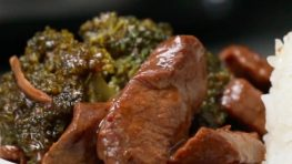 Slow Cooker Rundvlees en Broccoli