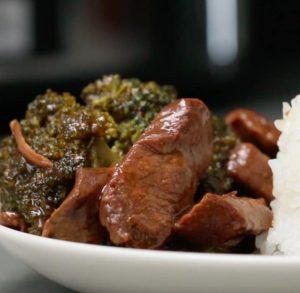 Slow Cooker Rundvlees en Broccoli