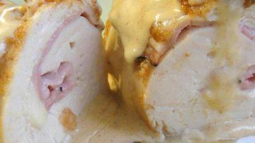 Maak uw eigen kip cordon bleu