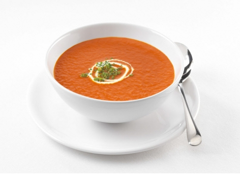 Maak nu verse Tomaten Crème Soep